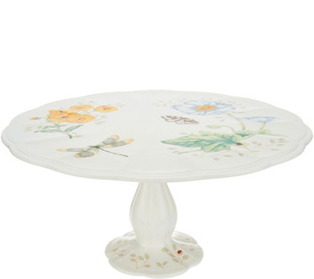 "Lenox Butterfly Meadow 10"" Pedestal Cake Stand"