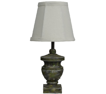 "12"" Capri Urn Accent Lamp by Valerie"