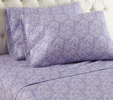 Shavel Micro Flannel Printed Full Sheet Set