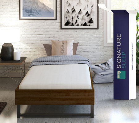 "Signature Sleep Tranquility 6"" Memory Foam TwinXL Mattress"