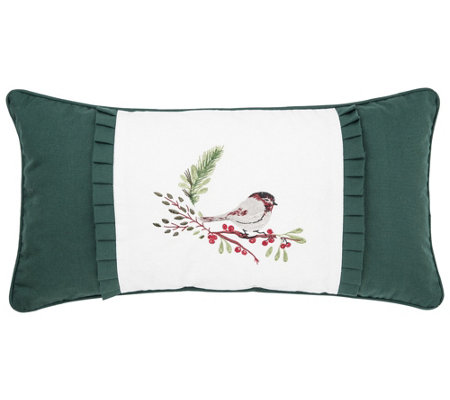 Chickadee Pillow by Valerie