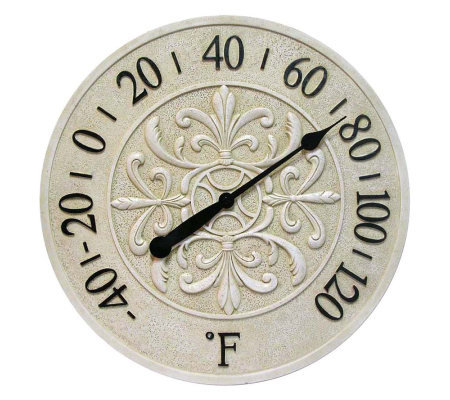 Blanc Fleur Thermometer by Infinity