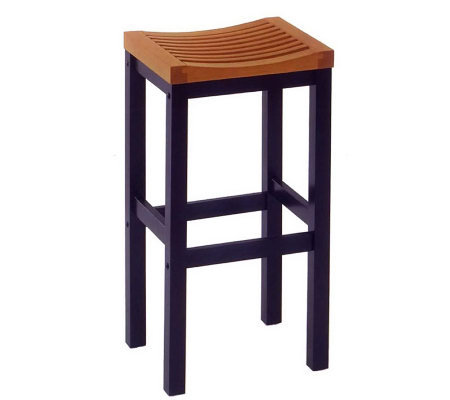 Strange Home Styles 24 Bar Stool Qvc Com Gamerscity Chair Design For Home Gamerscityorg