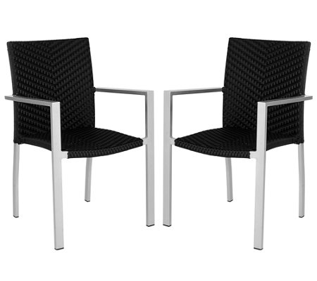 Safavieh Cordova Set of 2 Indoor/Outdoor Arm Chairs