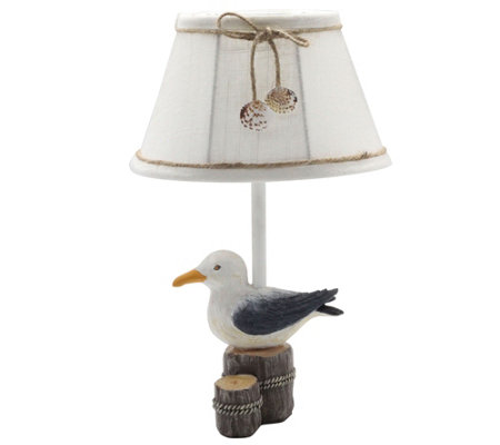 "12"" Johnny Gull Accent Lamp by Valerie"