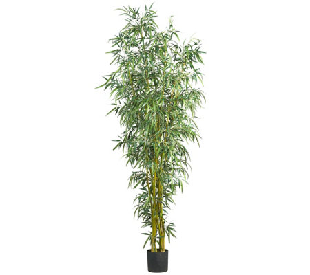 8' Fancy Style Bamboo Tree by Nearly Natural