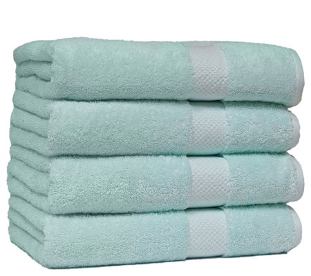 Elegance Spa Luxurious Cotton Four Bath TowelsSet