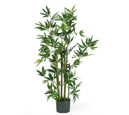 4' Bamboo Plant by Nearly Natural