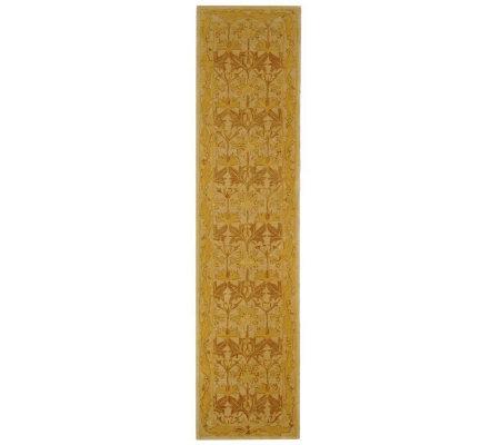 Anatolia Iii 2 3 X 12 Runner Handtufted Oriental Wool Rug