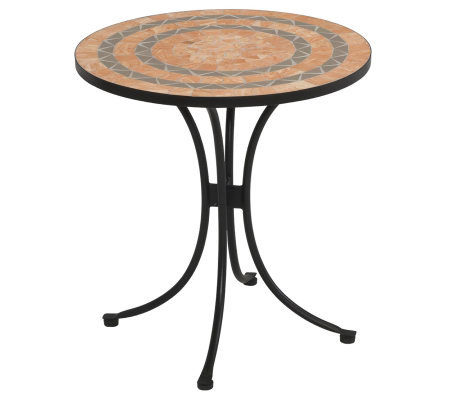 Home Styles Terra-Cotta Bistro Table
