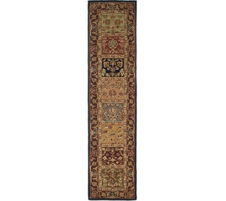 "Royal Palace Special Edition 2'3""x9'6"" Tabrix Panel Wool Rug"