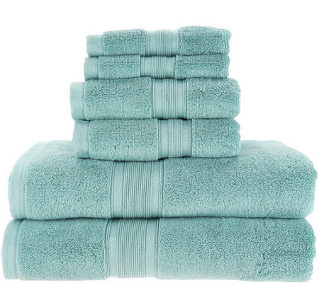 Wamsutta 6 Piece 100 Pimacott Towel Set
