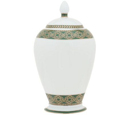 Casa Zeta-Jones Celtic Knot Bone China Illuminated Urn