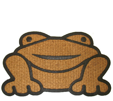 Geo Crafts Frog Coir Doormat