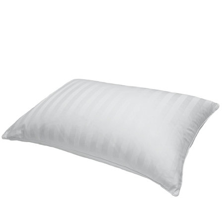 Blue Ridge 500TC Damask Siberian White Down Jumbo Pillow