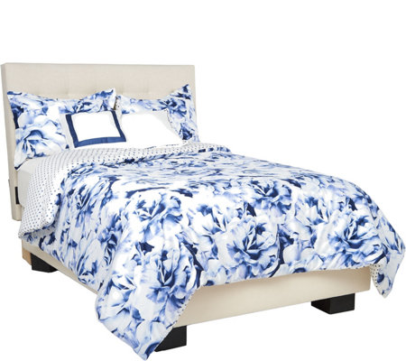 Isaac Mizrahi Live! Home King 5-piece Floral Burst Comforter Set