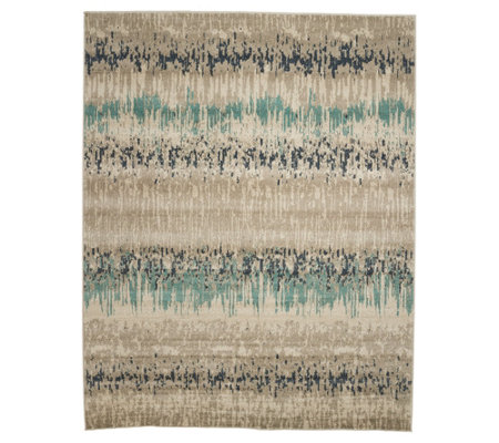 "Scott Living Modern Swirl or Glaicer 5'3"" x 7'6"" Indoor Rug"