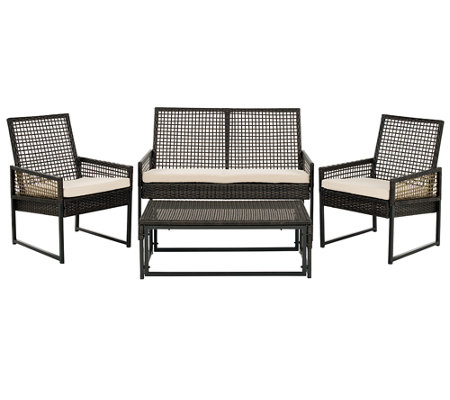 Safavieh Shawmont 4-Piece Outdoor Patio Set