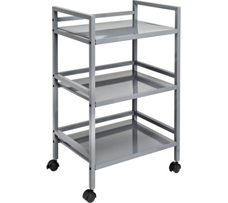Honey Can Do 3-Tier Metal Rolling Cart