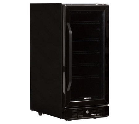 NewAir 96-Can Built-In Beverage Cooler - BlackStainless Steel