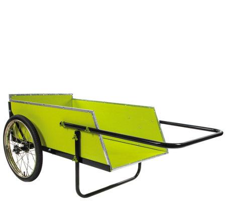 Sun Joe 7 Cubic Foot Heavy Duty Garden + Utility Cart \u2014 QVC.com