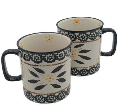 Temp-tations Set of 2 Old World 14-oz Mugs