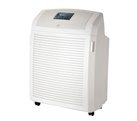SPT Heavy-Duty Air Cleaner with HEPA, Carbon, VOC & TiO2