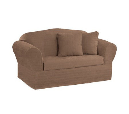 Sure Fit Viewpoint Faux Suede Sofa Slipcover