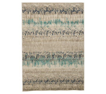 "Scott Living Modern Swirl or Glacier 7'10"" x 10' Indoor Rug"