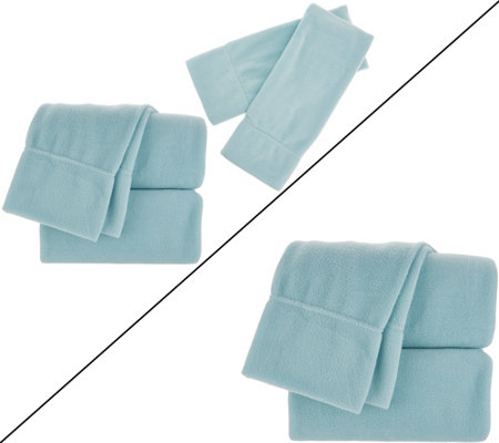 Malden Mills Polarfleece Sheet Set with Extra Pillowcases