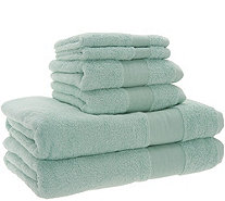Stay by Stacy Garcia 6 Piece Signature Plush Hotel Towel Set - H217058