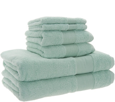 Stay by Stacy Garcia 6 Piece Signature Plush Hotel Towel Set