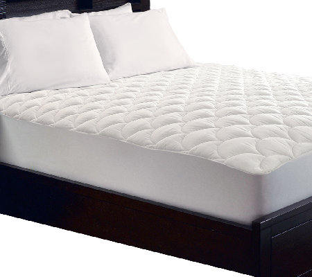 Blue Ridge Premium 350TC Swiss Dot Full Mattress Pad