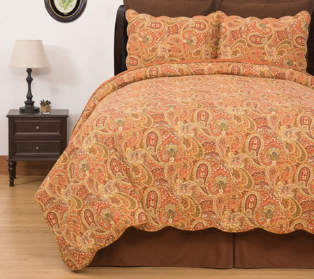 Tangiers King Quilt Set by Valerie