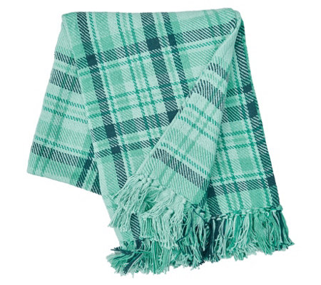 McKinley Plaid Throw by Valerie