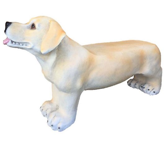 "SWI 32"" Yellow labrador bench"