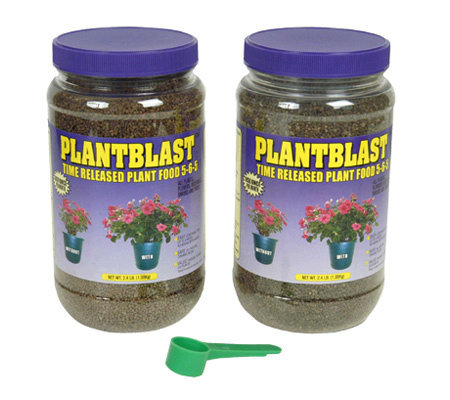 Plantblast Time-Released Plant Food - Set of 21.8 lb Jars