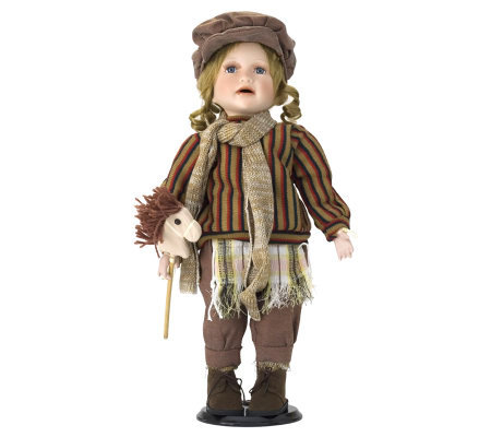 Ellis Island Collection of Porcelain Dolls - Joseph
