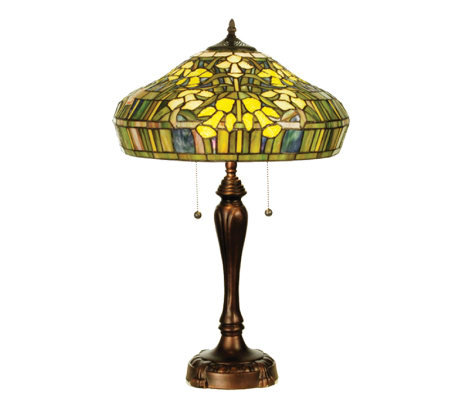 Tiffany-Style Jonquil Table Lamp