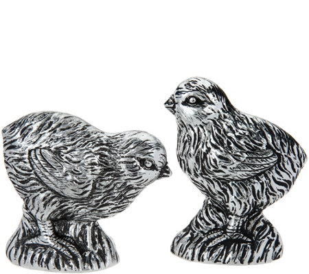2-Piece Decorative Chick Figurines by Valerie