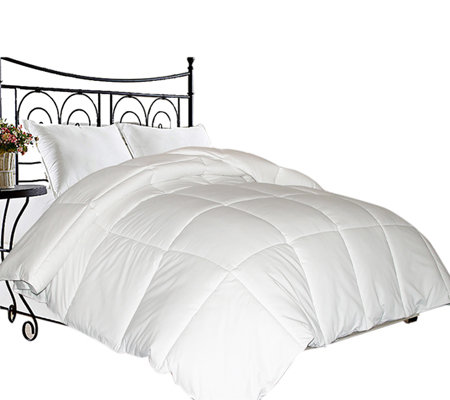 Kathy Ireland Home King Microfiber White Down Fill Comforter