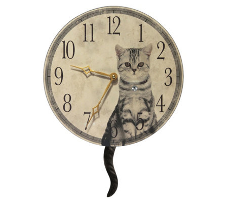 Infinity Instruments Purrfect Timing 18 5 Catclock