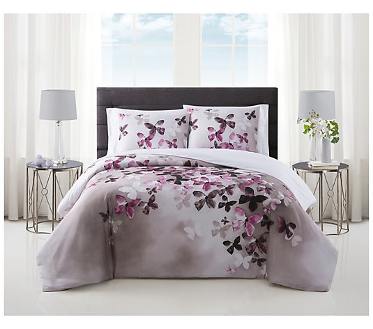 Vince Camuto Lissara 3-Piece Full/Queen Comforter Set