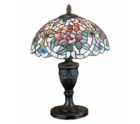 Meyda Tiffany Style Renaissance Rose Accent Lamp