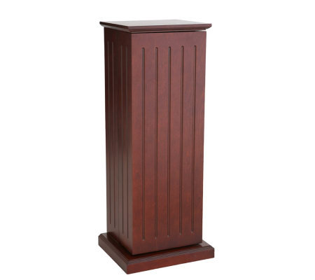 Belmeade Cherry CD/DVD Storage Pedestal w/Adjustable Shelves