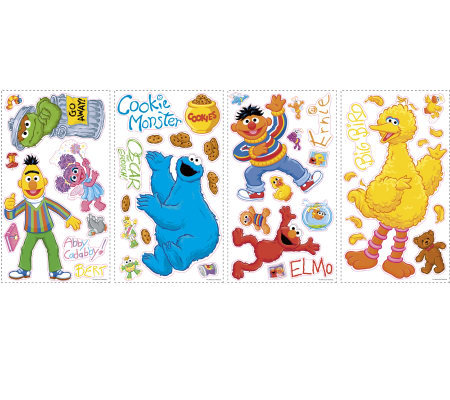 RoomMates Sesame Street Wall Decals