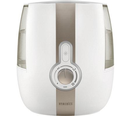 Homedics Cool Mist Ultrasonic Humidifier 1 4gallon 72 Hour