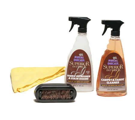 Final Detail(R) Superior Interior Car Care Kit