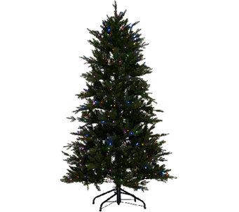 as is santas best 5 grand fraser fir tree wez power - Santas Best Christmas Trees