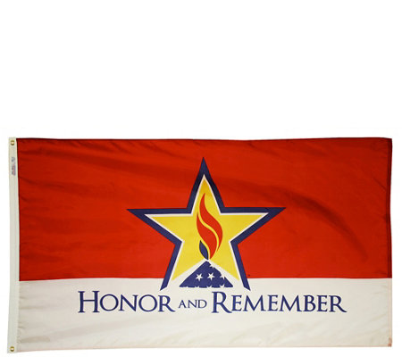 Annin Honor and Remember Military Flag